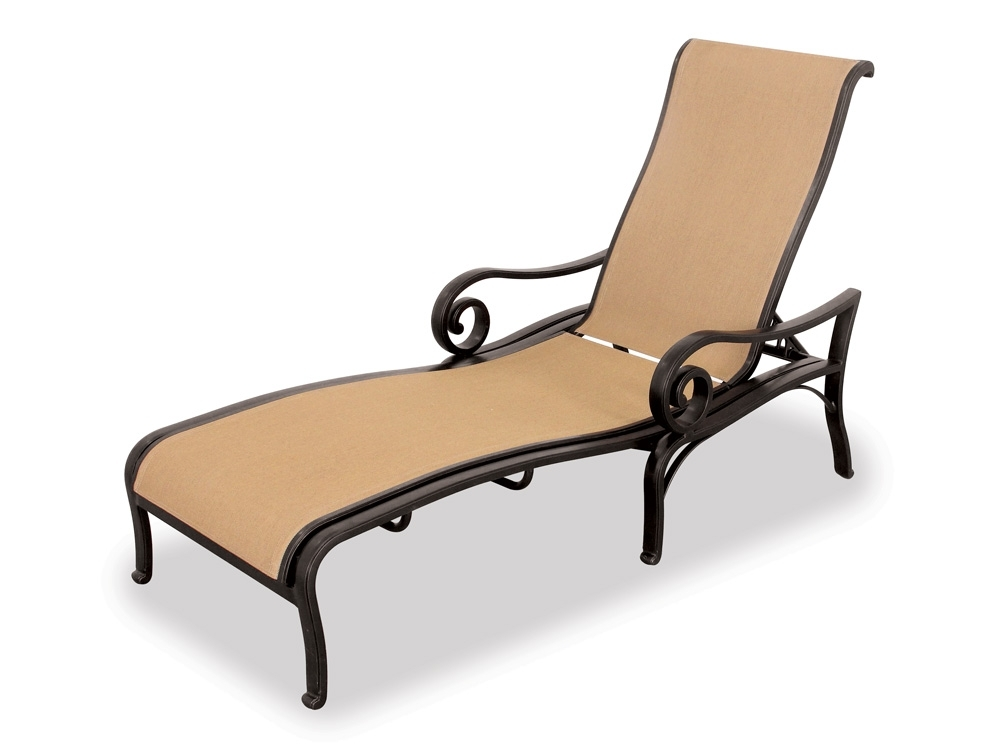 Fabulous Aluminum Patio Lounge Chairs Aluminum Chaise Lounge Pertaining To Most Popular Chaise Lounge Chairs At Macy's (View 10 of 15)