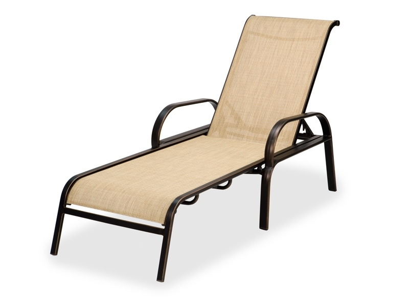 Fabulous Mesh Chaise Lounge Chairs Outdoor Chaise Lounge Chairs With Fashionable Outdoor Metal Chaise Lounge Chairs (View 5 of 15)