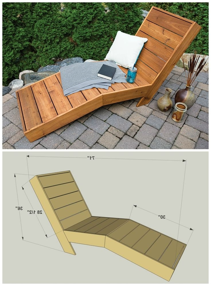 Facil Throughout Preferred Diy Outdoor Chaise Lounge Chairs (View 6 of 15)