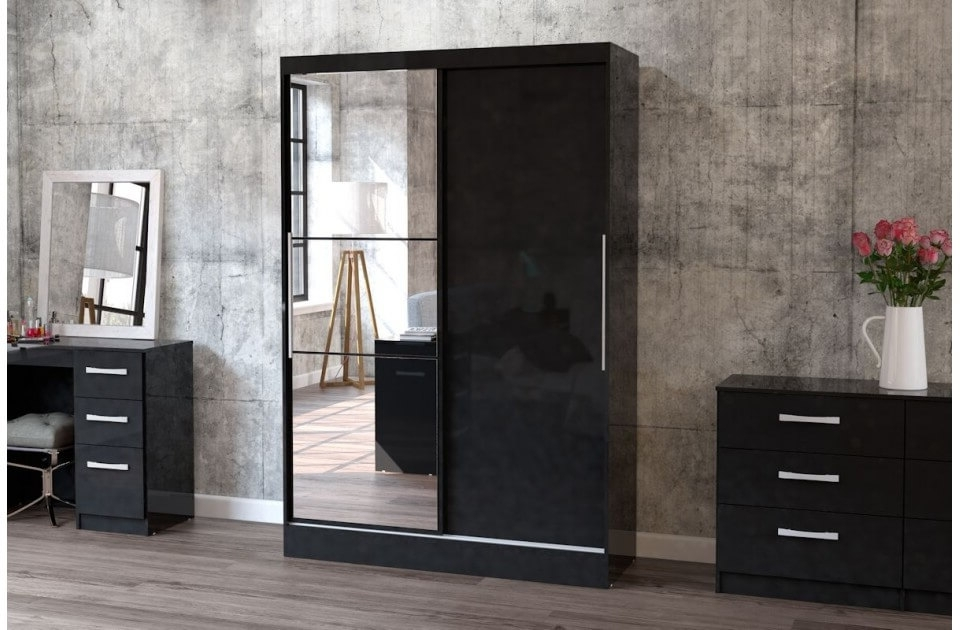 Fads Regarding Cheap Black Gloss Wardrobes (View 3 of 15)