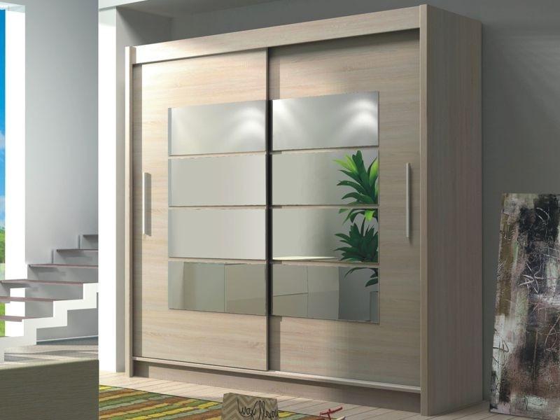 Famous 2 Sliding Door Wardrobes With Regard To Wardrobe – Toronto – Dako Furniture (View 6 of 15)
