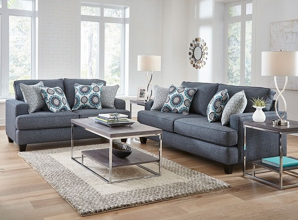 Famous Alluring 2 Piece Carmela Living Room Collection At Aarons With Sectional Sofas At Aarons (View 3 of 10)