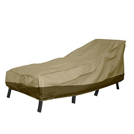 "Famous Amazon : Patio Armor Chaise Lounge Cover, 76"" L X 28"" W X 30 Within Chaise Lounge Covers (View 7 of 15)"