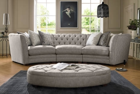 Famous Corner Sofas In Leather, Fabric (View 7 of 10)