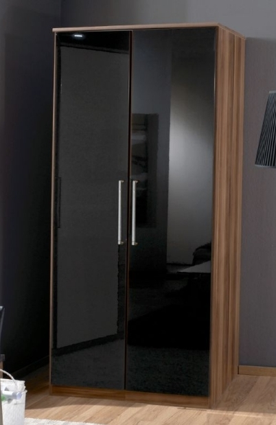 15 Ideas Of Black Gloss Wardrobes