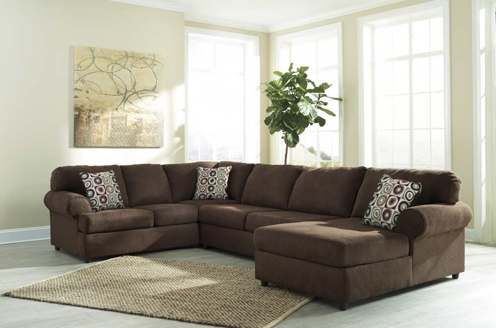Famous Eau Claire Wi Sectional Sofas With Regard To Jayceon – Java 3 Pc Laf Corner Chaise Sectional (View 1 of 10)