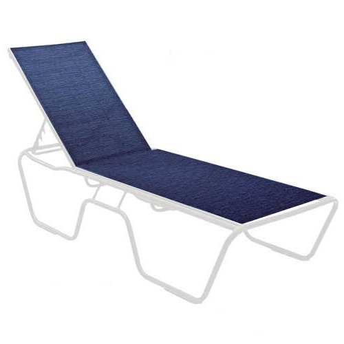 Famous Economy Commercial Grade Sling Fabric & Aluminum Chaise Lounge Pertaining To Commercial Grade Outdoor Chaise Lounge Chairs (View 12 of 15)