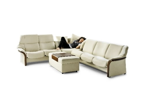 Famous Ergonomic Sofas And Chairs With Stressless Granada High Back Leather Ergonomic Sofa Couch (View 6 of 10)