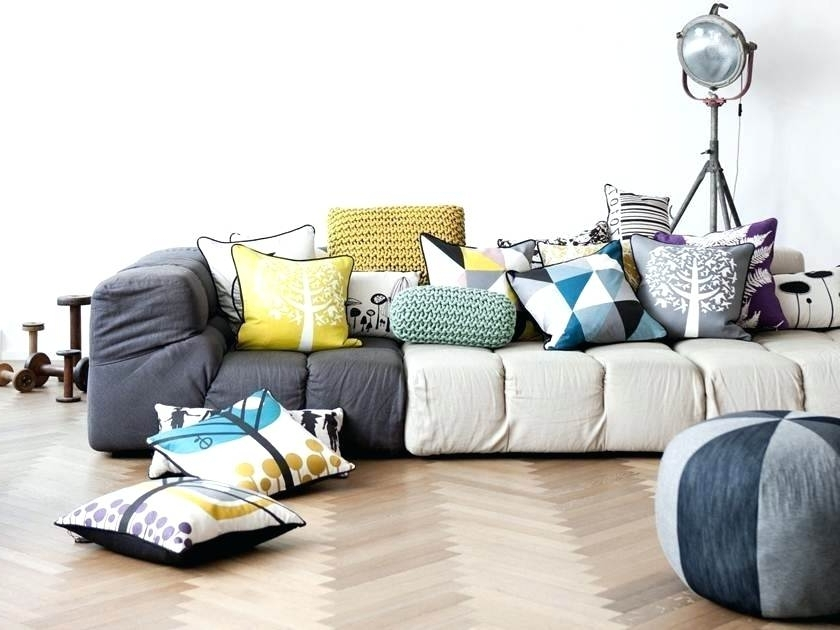 Famous Floor Cushion Sofas With Regard To Modular Floor Cushions Sofas – Nurani (View 1 of 10)