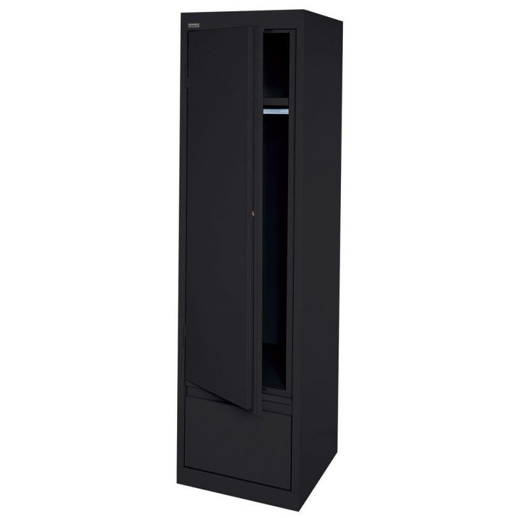 Famous Fresh Black Single Door Wardrobe – Badotcom Inside Black Single Door Wardrobes (View 13 of 15)