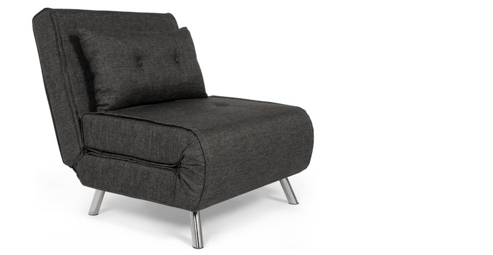 Famous Haru Single Sofa Bed, Cygnet Grey (View 1 of 10)