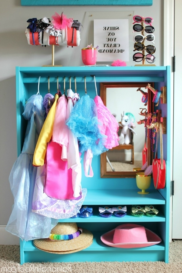 Famous Ikea Billy Bookcase Hack: Diy Dress Up Closet Throughout Kids Dress Up Wardrobes Closet (View 14 of 15)