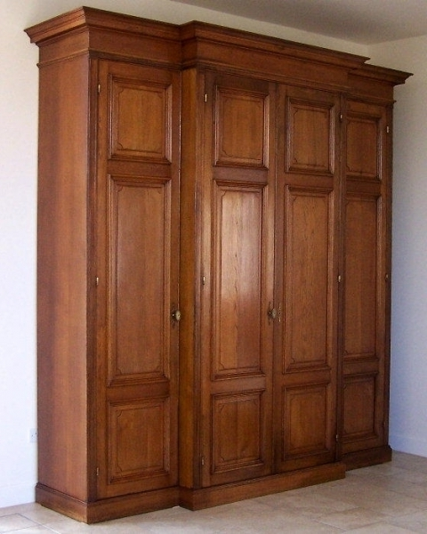 Famous Large Oak Wardrobes In Large Oak Wardrobes Oak Wardrobe/cupboard From Liberty's Store (View 5 of 15)