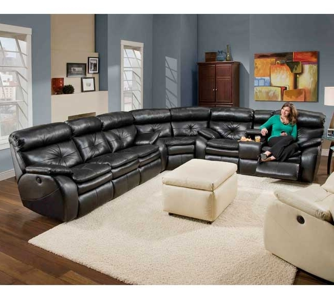 2018 Best of Leather Motion Sectional Sofas