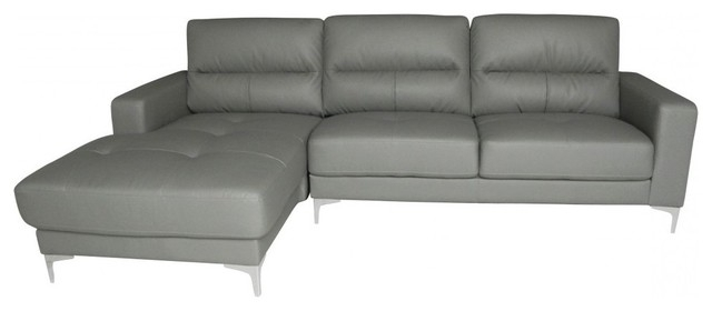 Famous Memphis Bonded Leather Sectional, Right Chaise – Contemporary Intended For Memphis Sectional Sofas (View 1 of 10)