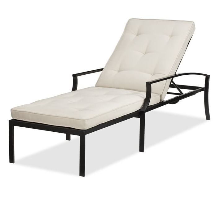Famous Riviera Single Chaise & Cushion (View 9 of 15)