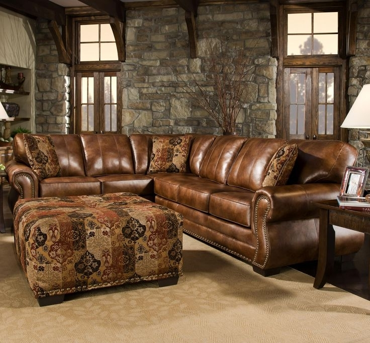 Famous Sectional Sofa Design: Rustic Sectional Sofas Chaise Compact Within Western Style Sectional Sofas (View 1 of 10)