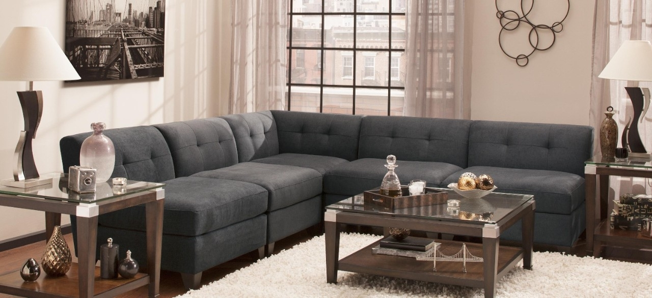 Famous Sectional Sofas At Raymour And Flanigan Inside Jonathan Louis (View 4 of 10)