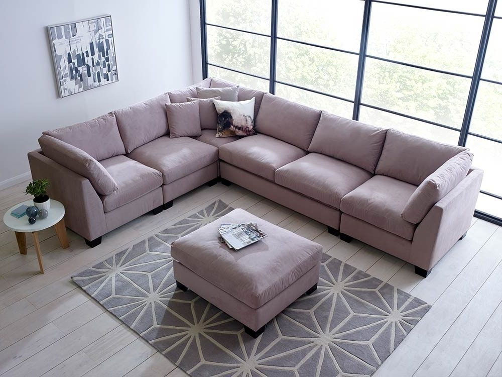 Famous Sectional Sofas That Can Be Rearranged Throughout Isabelle Sectional Sofa Set – Corner Sofa (View 5 of 10)