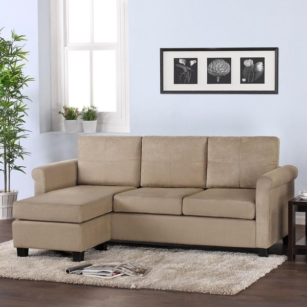 Famous Small Spaces Sectional Sofas With Small Sectional Sofa For Small Spaces Dorel Living Small — The (View 3 of 10)