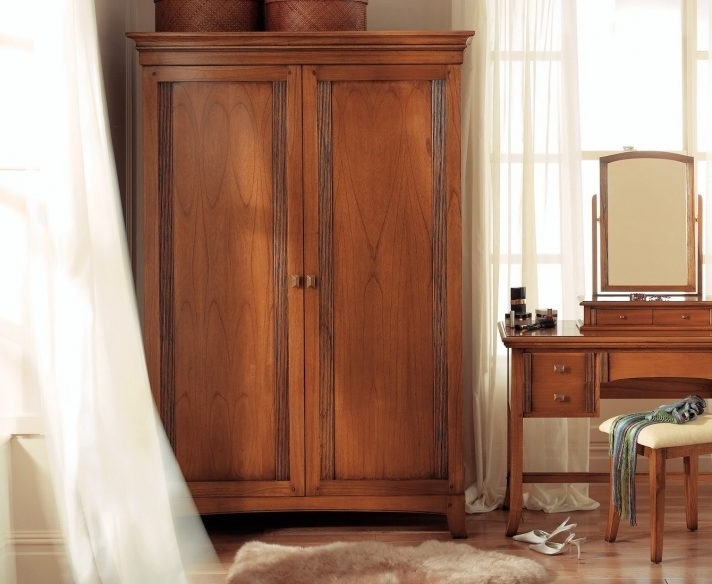 Famous Solid Wood Wardrobe Closet Fitted Wardrobes Dark You Must See This Inside Dark Wood Wardrobes With Drawers (View 7 of 15)
