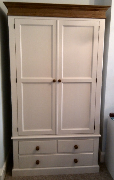 Farrow And Ball Painted Wardrobes For Widely Used Hotwells Pine – Made To Measure Furniture (View 2 of 15)