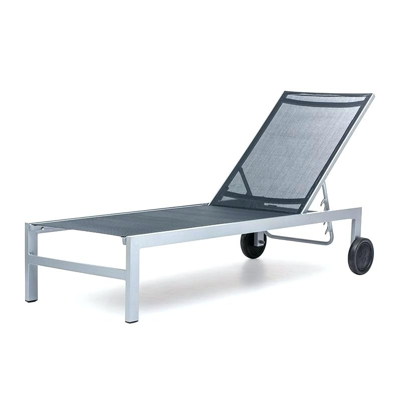 Fashionable Aluminum Chaise Lounges For Clearance Outdoor Chaise Lounge – Colbycolby (View 9 of 15)