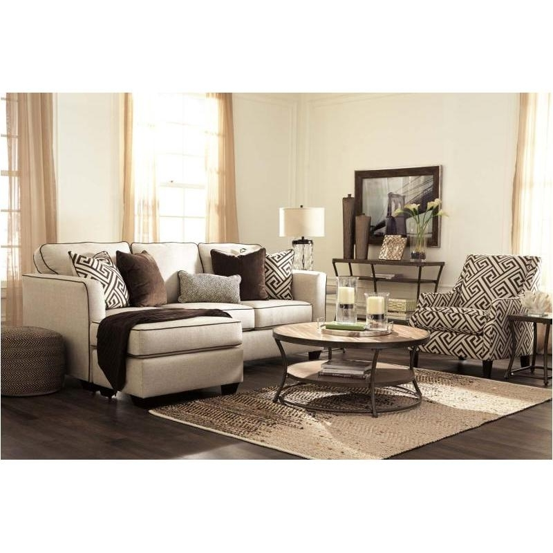Fashionable Ashley Furniture Sofa Chaises Regarding 8440118 Ashley Furniture Carlinworth Living Room Sofa Chaise (View 12 of 15)