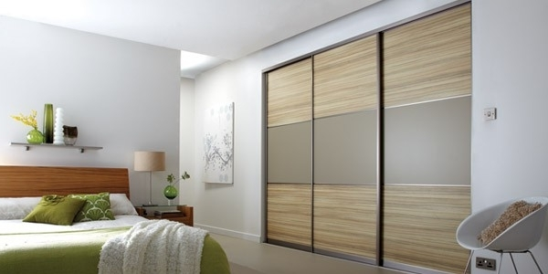 Fashionable Bespoke Sliding Doors, Sliding Wardrobe Doors Design And Inside Brown Wardrobes (View 13 of 15)