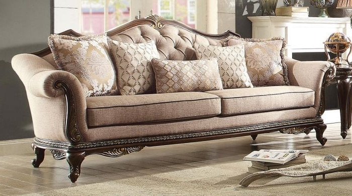 Fashionable Best Traditional Fabric Sofas Photos – Liltigertoo With Traditional Fabric Sofas (View 3 of 10)