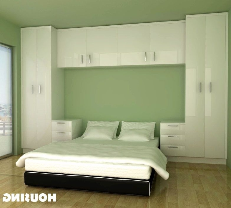 Fashionable Built In Bedroom Wardrobe Cabinets Around Bed – Google Search In Over Bed Wardrobes Sets (View 3 of 15)