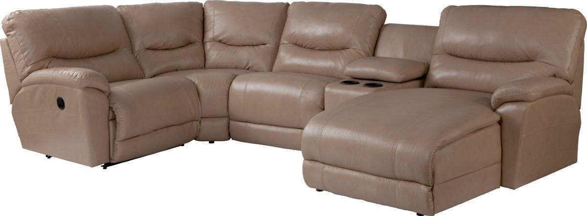 Fashionable Casual Five Piece Reclining Sectional Sofa With Ras Chaisela Z Inside Gardiners Sectional Sofas (View 3 of 10)