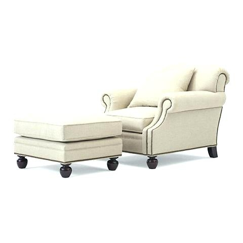 Fashionable Chairs With Ottoman Within Oversized Chairs With Ottoman Chair With Attached Ottoman S (View 4 of 10)