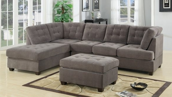 Fashionable Chaise Sofa Sectionals Pertaining To Romantic Sectional Sofas For Small Spaces Home Decor Furniture (View 8 of 15)