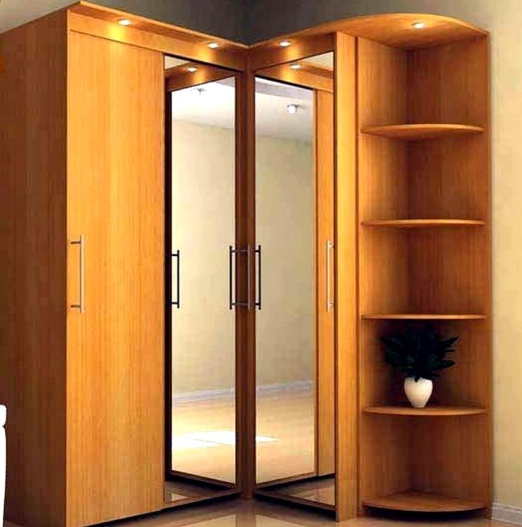 Fashionable Corner Wardrobe Cabinet Design Decoration (View 6 of 15)