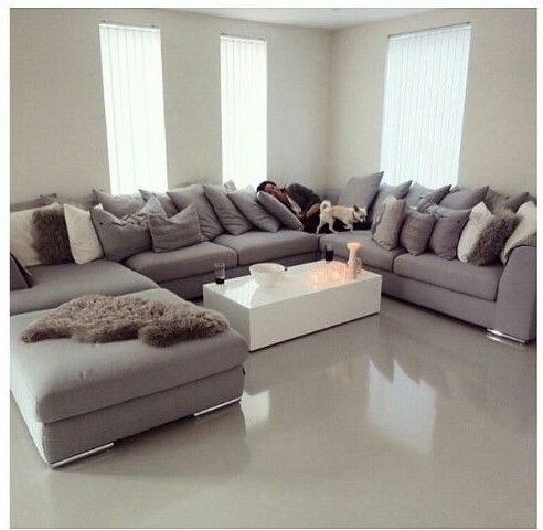 Fashionable Couch U Shaped Couch 2018 Collection Hi Res Wallpaper Images Light Pertaining To Extra Large U Shaped Sectionals (View 10 of 10)