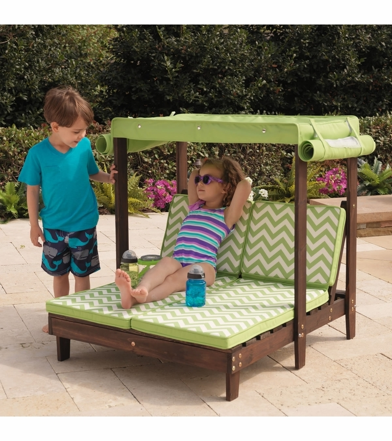 Fashionable Double Chaise Lounge Kidkraft (View 12 of 15)
