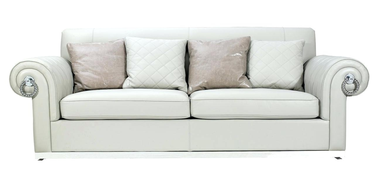 Fashionable Exotic Off White Couch Marvelous Off White Leather Sofa Sofa For Off White Leather Sofas (View 4 of 10)