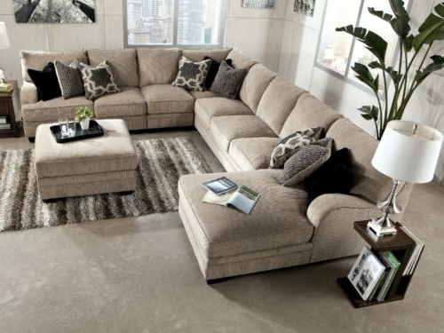 Fashionable Extra Large Sectional Sofas For Undefined  Hom Furniture Sectional Sofa (View 4 of 10)
