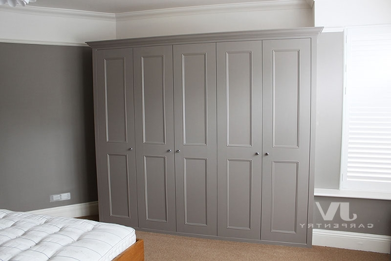 Fashionable Fitted Wardrobes, Bookshelves And Alcove Cupboards Top Sellers Within Alcove Wardrobes (View 7 of 15)