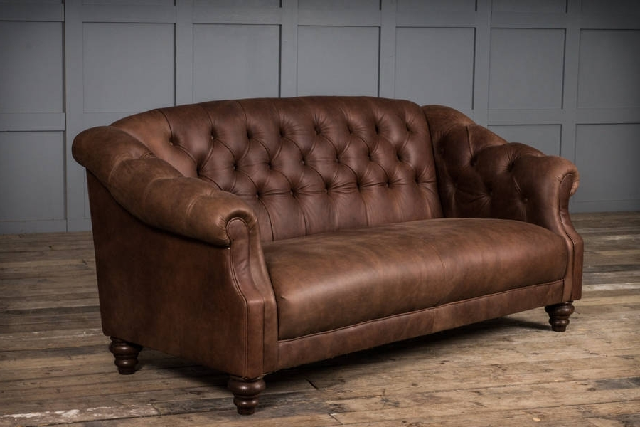 Fashionable Florence Leather Sofa (View 4 of 10)