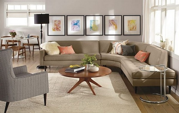 Fashionable Impressive Sectional Sofa Decorating Ideas Features Home Intended For Sectional Sofas Decorating (View 2 of 10)