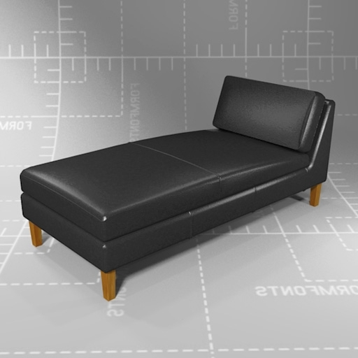 Fashionable Karlstad Chaises Intended For Ikea Karlstad Chaise Lounge 3D Model – Formfonts 3D Models & Textures (View 6 of 15)
