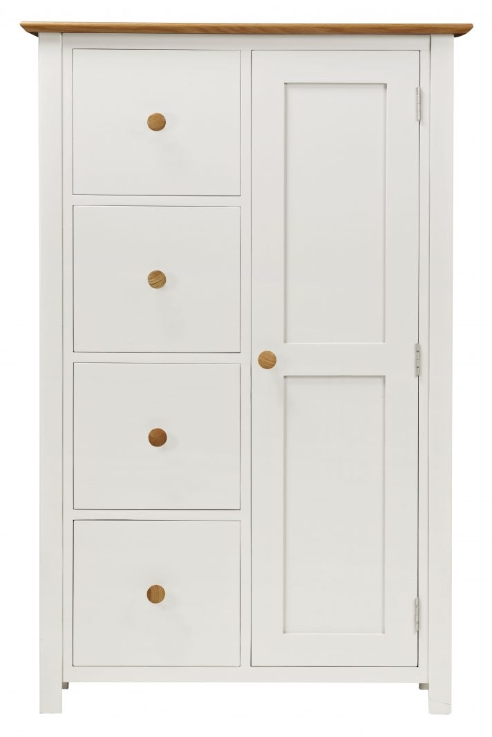 Fashionable Large White Wardrobes With Drawers Within Large White Wardrobe With Drawers Antique Mid Sleeper And Small (View 5 of 15)