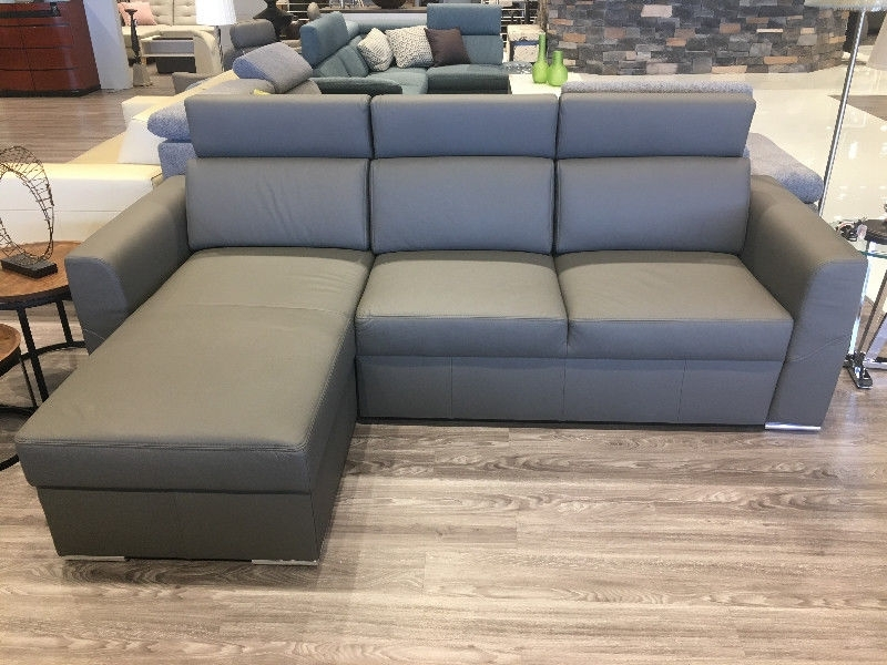 Fashionable Leather Sectional – Napp – Bed & Storage – Made In Europe With Regard To Kijiji Mississauga Sectional Sofas (View 6 of 10)