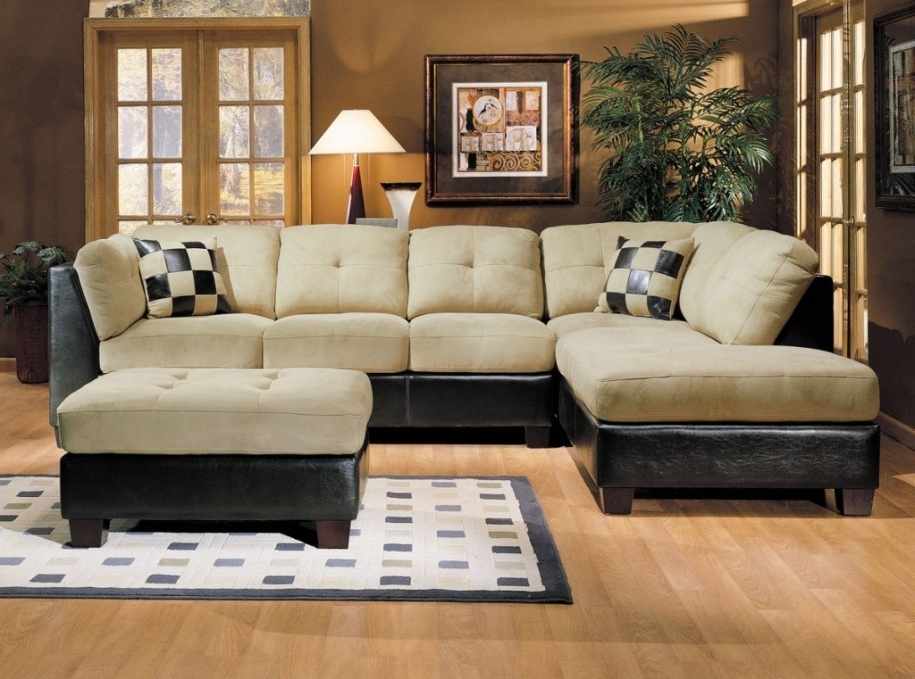 Fashionable Living Spaces Sectional Sofas Pertaining To Furniture : Affordable Vintage Style L Shaped Sectional Sofa With (View 2 of 10)