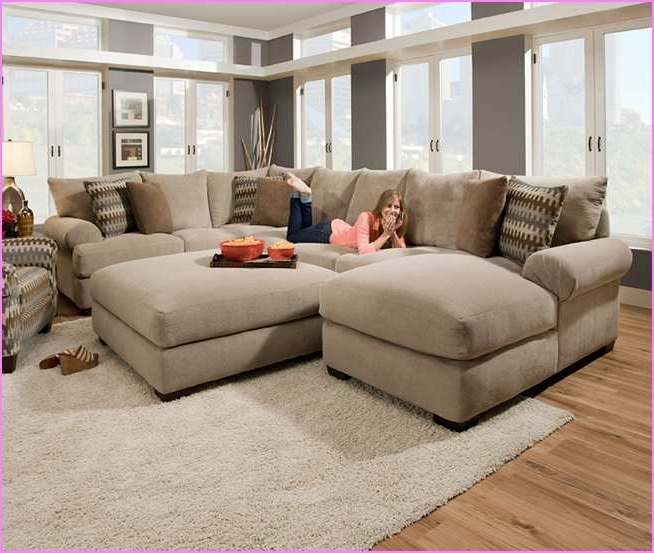 Fashionable Lovely Deep Seated Sectional Couches 39 For Modern Sofa In Ideas 2 Within 2 Seat Sectional Sofas (View 4 of 10)