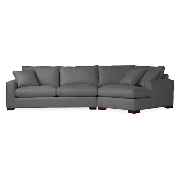Fashionable Metro Sofa With Angled Chaise – Modern Sectionals – Modern Living Pertaining To Angled Chaise Sofas (View 7 of 10)