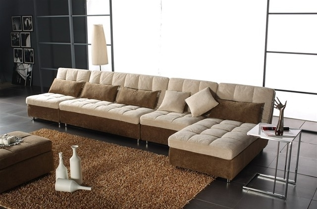 Fashionable Microsuede Sectional Sofas Inside Sectional Couch Microfiber Microsuede Sectional Sofa Fantastic (View 4 of 10)
