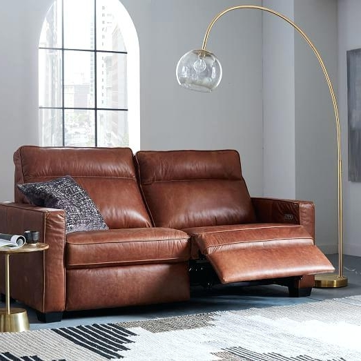 Fashionable Modern Reclining Leather Sofas In Modern Recliner Sofa – Wojcicki (View 1 of 10)